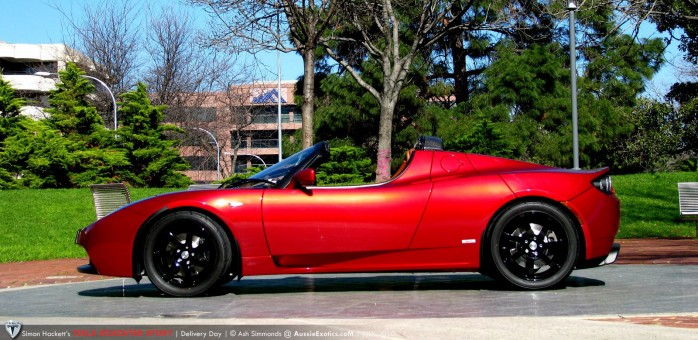 Tesla Roadster Sport - side profile