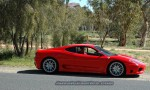 Ferrari 360cs Australia Exotics in the Outback 2005: 010 ash d70 101