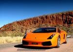 ashsimmonds Photos Exotics in the Outback 2006 - Day 2: Lamborghini Gallardo at Helen's Gorge