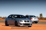 BMW m5 Australia Exotics in the Outback 2006 - Day 3: BMW M5s in the Outback