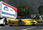 Ferrari f50 Australia Ferrari National Rally 2007 - Unloading F50 at Concours: IMG 0698