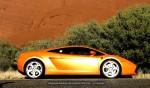 Lamborghini   Exotics in the Outback 2006 - Day 4: Lamborghini Gallardo