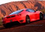 Photos uluru Australia Exotics in the Outback 2006 - Day 4: Ferrari F430 at Uluru