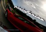 Ferrari National Rally 2007 - Concours d'Elegance: Pininfarina Badge - Ferrari 599 GTB reflection