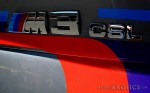 Classic Adelaide 2008: BMW M3 CSL Badge