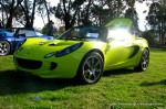 Lotus Club 2009 - Beechworth Concours: Lotus Elise Krypton Green