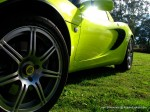 Wheel   Lotus Club 2009 - Beechworth Concours: Lotus Elise Krypton Green