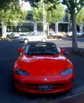 Adelaide   Spotted: Dodge Viper RT/10