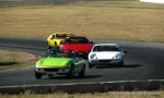 Racing   Lotus Club 2009 - Winton Trackday: Jostling