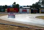 Esprit   Lotus Club 2009 - Winton Trackday: Red Esprit lock-up