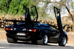 500   Bull Run - Lamborghini Club SA: Lamborghini Countach QV5000 - doors up