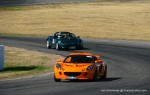 Elise   Lotus Club 2009 - Winton Trackday: Orange Exige and Green Elise