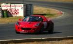 Racing   Lotus Club 2009 - Winton Trackday: Red Elise