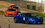 Lotus Club 2009 - Winton Trackday: Elises and Exiges in Pit Lane
