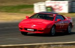 Esprit   Lotus Club 2009 - Winton Trackday: Red Esprit