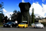 Sports   Lap of Tasmania 2007: Sports cars at the Giant Koala