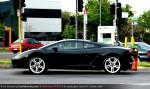 Adelaide   Lamborghini Club SA Bull's Run - October 2009: Lamborghini Gallardo LP560-4