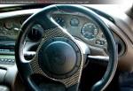 Lamborghini   Lamborghini Club SA Bull's Run - October 2009: Lamborghini Diablo SE 6.0 steering wheel and dashboard