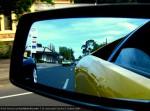 Lamborghini Club SA Bull's Run - October 2009: Lamborghini Murcielago LP640 mirror