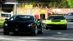 And   Lamborghini Club SA Bull's Run - October 2009: Lamborghini Gallardo LP560-4 and Urraco