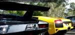 In   Lamborghini Club SA Bull's Run - October 2009: Lamborghini Countach