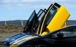 Lamborghini murcielago Australia Lamborghini Club SA Bull's Run - October 2009: Scissor doors