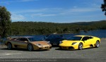 Lamborghini Club SA Bull's Run - October 2009: Diablo - Murcielago - Countach
