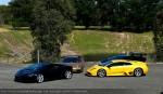 Lamborghini Club SA Bull's Run - October 2009: Lamborghinis relaxing