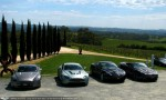 On   Aston Martin Drive Event - Solitaire Automotive - Oct 2009: Aston Martins at The Lane Winery