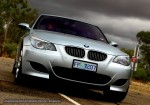 Silver   Exotics in the Outback 2007:  E60 BMW M5