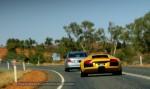 Photos bmw Australia Exotics in the Outback 2007:  E60 BMW M5  Lamborghini Murcielago