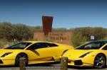 In   Exotics in the Outback 2007: Lamborghini Gallardo SE at SA Border Lamborghini Murcielago
