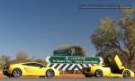 Lamborghini murcielago Australia Exotics in the Outback 2007:  Lamborghini Murcielago Gallardo