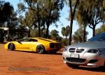 Photos bmw Australia Exotics in the Outback 2007:  Lamborghini Murcielago  BMW M5 E60