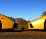 Lamborghini   Exotics in the Outback 2007:  Lamborghini Murcielago  Lamborghini Gallardo