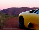 Photos uluru Australia Exotics in the Outback 2007:  Lamborghini Murcielago