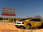 Lamborghini   Exotics in the Outback 2007:  Lamborghini Gallardo