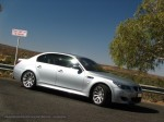 Silver   Exotics in the Outback 2007:  BMW M5 E60