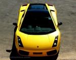 Top   Exotics in the Outback 2007:  Lamborghini Gallardo Top Down