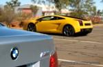 Photos bmw Australia Exotics in the Outback 2007:  Lamborghini Gallardo  BMW M5 E60