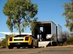 Lamborghini gallardo Australia Exotics in the Outback 2007:  Lamborghini Gallardo