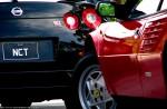 NISSAN   Cape Jervis - Feb 2010: Ferrari Mondial and Nissan R35 GTR