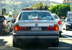 Bmw   Climb to the Eagle 2010: BMW-M5-with-ski-racks-maybe