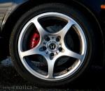 Honda NSX Invasion: Honda NSX wheel