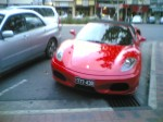 Car   Spotted: Ferrari F430 Spider