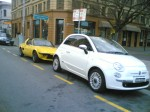 Fiat   Spotted: Fiat 500 and X1/9