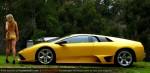 Lamborghini Murcielago LP640 hot girl Amanda Ellis wallpaper