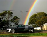 Supercar   Audi R8 - Supercar Club - Melb-Adel Sep09: Audi R8 - The Rainbow Connection