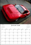 SALE,   Merchandise: Ferrari National Rally 2007 Calendar