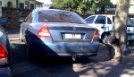Old   Spotted: nt-numeric-plate-33-holden-commodore-rear